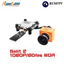 RunCam Split 2 FOV 130 Degree 1080P/60fps HD Recording Plus WDR NTSC/PAL Switchable FPV Camera for RC FPV Racing Drone