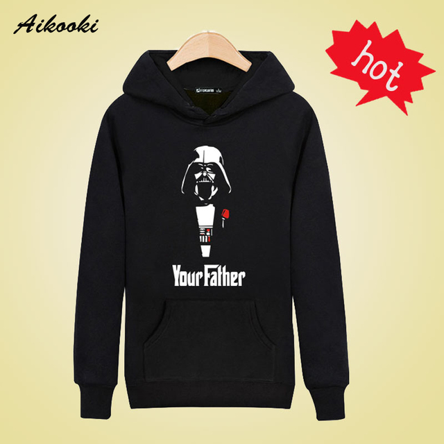 Your Father in Star Wars Sweatshirts Men Brand Hoodies Men 2016 Spring Male Sweatshirt Teenage for Young Men Fashion