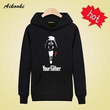 Your Father in Star Wars Sweatshirts Men Brand Hoodies Men 2016 Spring Male Sweatshirt Teenage for Young Men Fashion