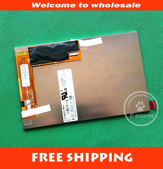 7inch LCD DISPLAY screen For TeXet NaviPad TM 7055HD 3G