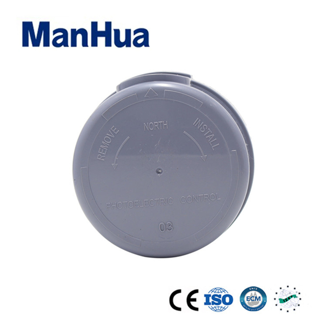 ManHua Hot Product Online Sell Photo-Electric Light Controller MS-BF Light Sensor Switch For Street Light and Garden Smart Home