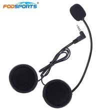 Fodsports 1 шт. Bluetooth домофон наушники для V6-1200M V4-1200M мотоцикл bluetooth-шлем домофон Беспроводной Bluetooth случае