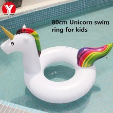 Baby SWIMMING RING UNICORN Ring Float Inflatable Swimming Circle for Children Flamingo Baby Float Pool Water Fun Pool Toys 2019 baby swimming ring water circle baby float inflatable summer kids float seat swimming baby float pool water fun toys