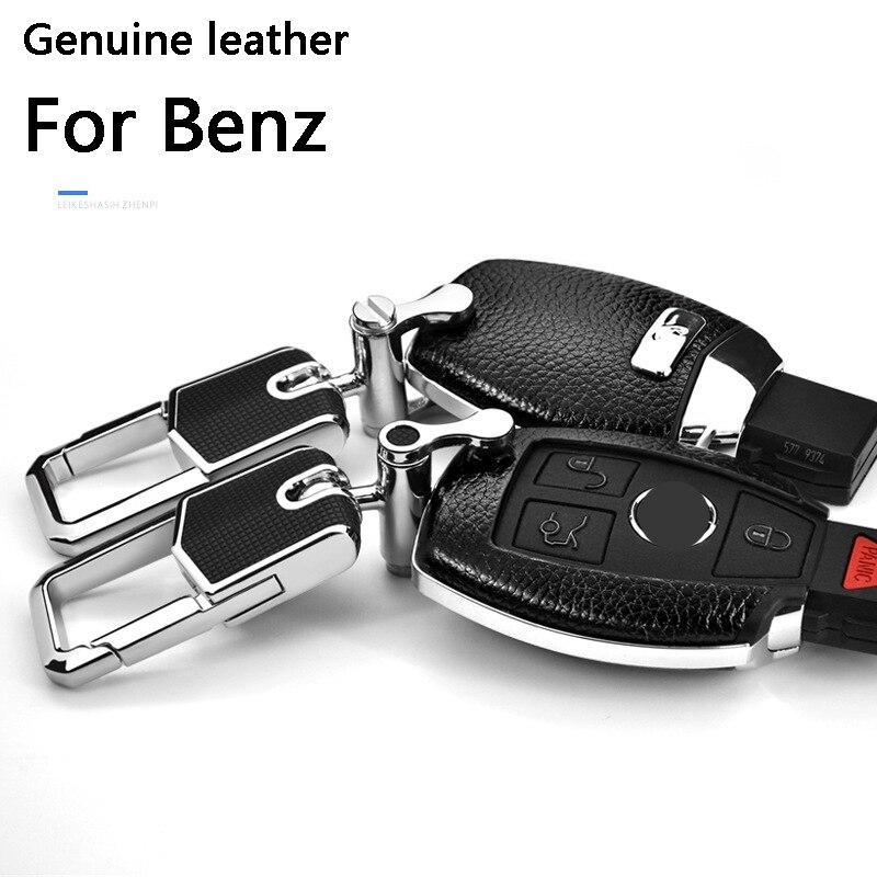 Car Remote Key Cover Case Shell Key Ring Key Chain Car Key FOB Holder For Mercedes Benz CLS CLA GL R SLK AMG A B W204 W205 W212