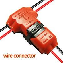 5 шт./упак. Провода Совместное Быстрый сращивания Разъем с без Провода зачистки основной кабель 22-18 AWG филиал 22-20awg