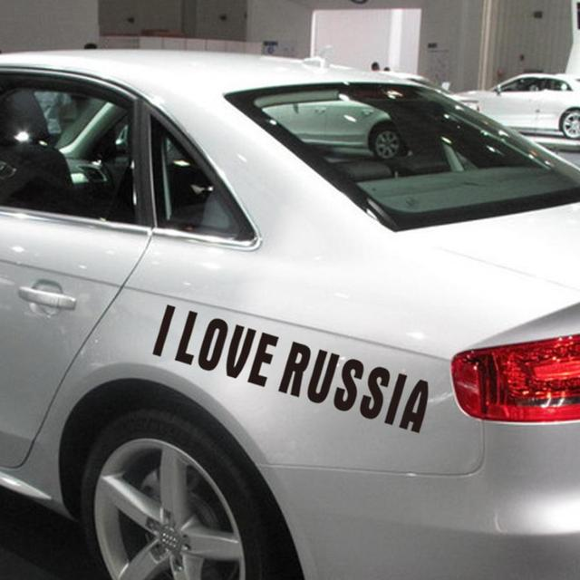 Car Styling The Jdm I Love Russia Custom Car Truck Window Drift