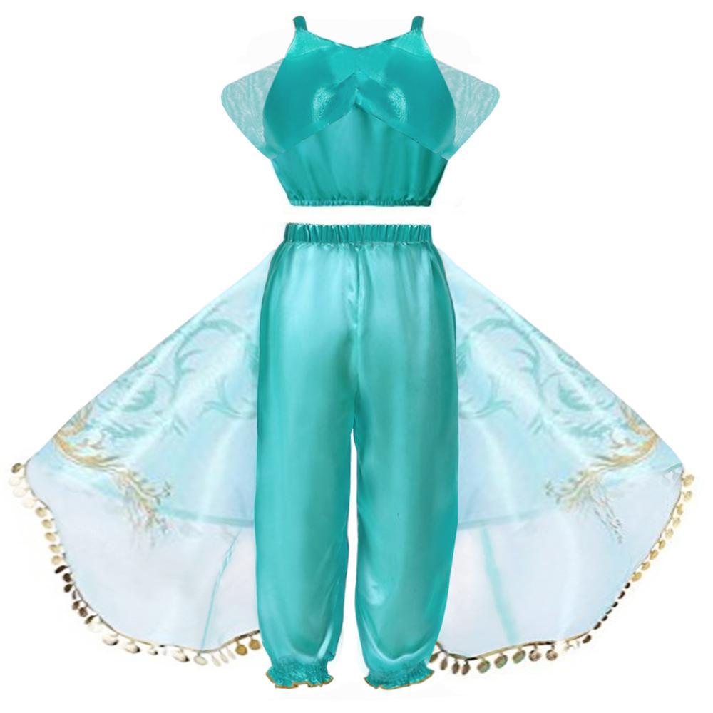 Toddlers Arabian Princess Aladdin Dress up Costume  1