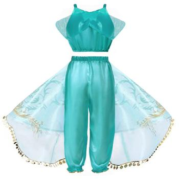 Toddlers Arabian Princess Aladdin Dress up Costume  1