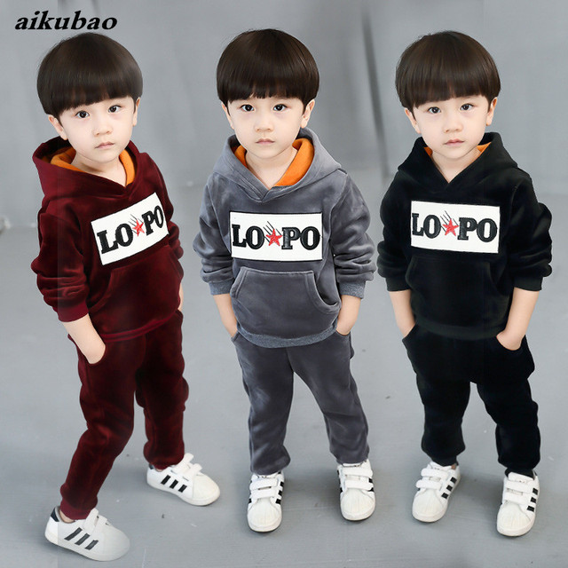 a7d6f5fe48162 US $15.43 |baby boys clothing sets baby products infant kids girls clothing  2018 new korean style cotton boys girls clothing for winter -in Clothing ...