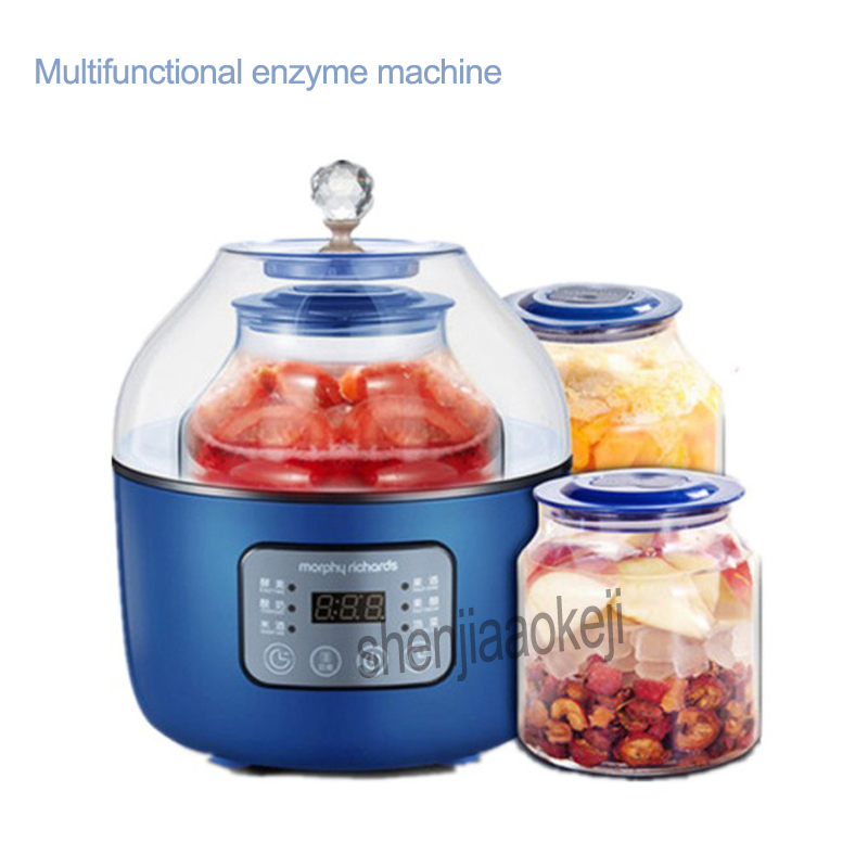 Household multifunctional Fermentation machine automatic home enzyme machines MR1009 Yogurt machine Intelligent enzyme machine cukyi full automatic household multi purpose enzyme machine for yogurt rice wine machine enzyme bucket 2 0l frement maker