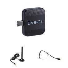 Micro DVB T2 DVB T Receptor Sintonizador de TV Digital USB TV Vara para Android Phone Pad Relógio DVB T2/ T Viver sintonizador de TV Micro USB