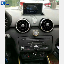 DLC Car styling 7 inches android system dual system navigation player mp3 bluetooth steering wheel control For audi A1 2010-2017