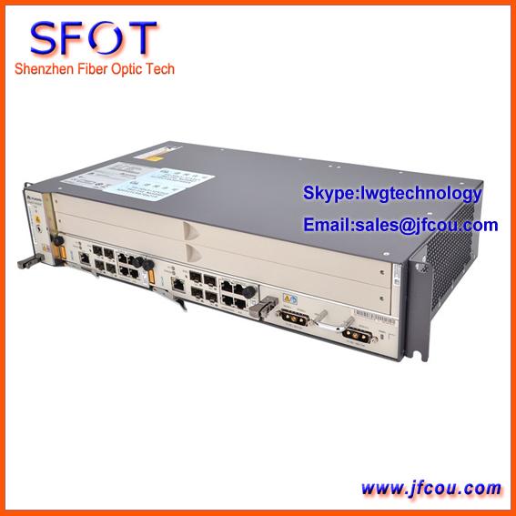 Original MA5608T GPON/EPON OLT/DC de alimentação, 2 MCUD incluído