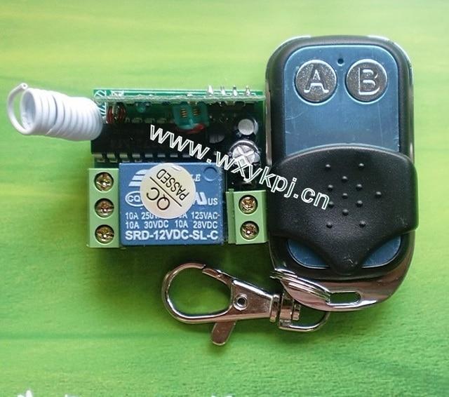 Dc 12v 10a 1ch Inter Lock Transmitter Receiver Rf Control System