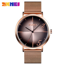 SKMEI Top Luxury Brand Relogio Masculino 9200 Men Quartz Watch Steel Strap Man Business Watches Male Waterproof Wristwatches top brand luxury watches men watch casual quartz watches waterproof male clock fashion relogio masculino wristwatches skmei