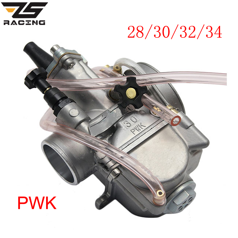 ZS Racing New Model Motorcycle 4T Engine Keihin Carburetor Carburador 28 30 32 34mm With Power Jet For Honda Yamaha Racing motor цена