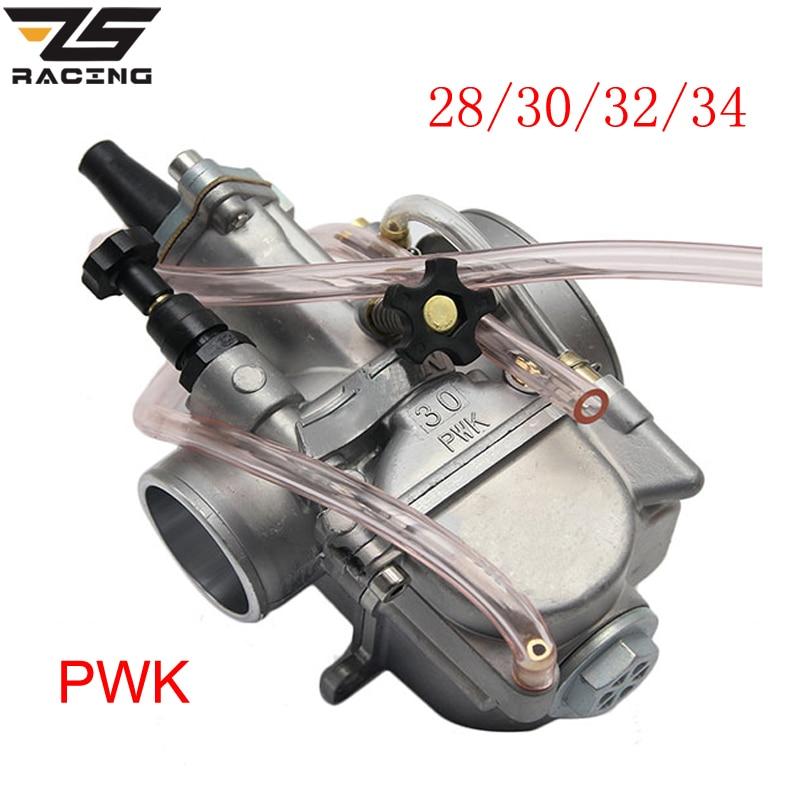 ZS Racing New Model Motorcycle 4T Engine Keihin Carburetor Carburador 28 30 32 34mm With Power Jet For Honda Yamaha Racing motor