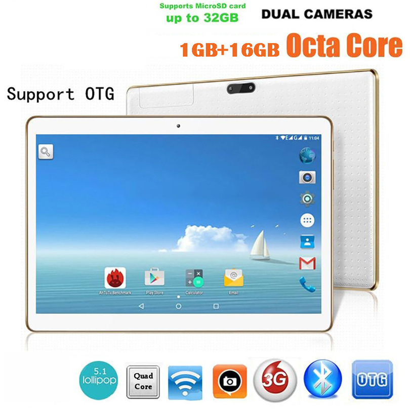 Hot selling 10.1 Inch MT6582M Quad-Core 1G + 16G Android 4.4 Dual Sim Dual Camera Phone Pad Wifi Phablet Tablet PC A30 yuntab 4g phablet h8 android 6 0 tablet pc quad core touch screen 1280 800 with dual camera and dual sim slots black