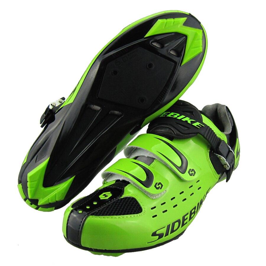 Цена за 2017Hot Продажа Sidebike Дорога Велоспорт Обувь На Открытом Воздухе Спортивная Обувь Велосипед Тапки автоблокировкой Велосипед Велоспорт Мужские Дорожный Велосипед обувь