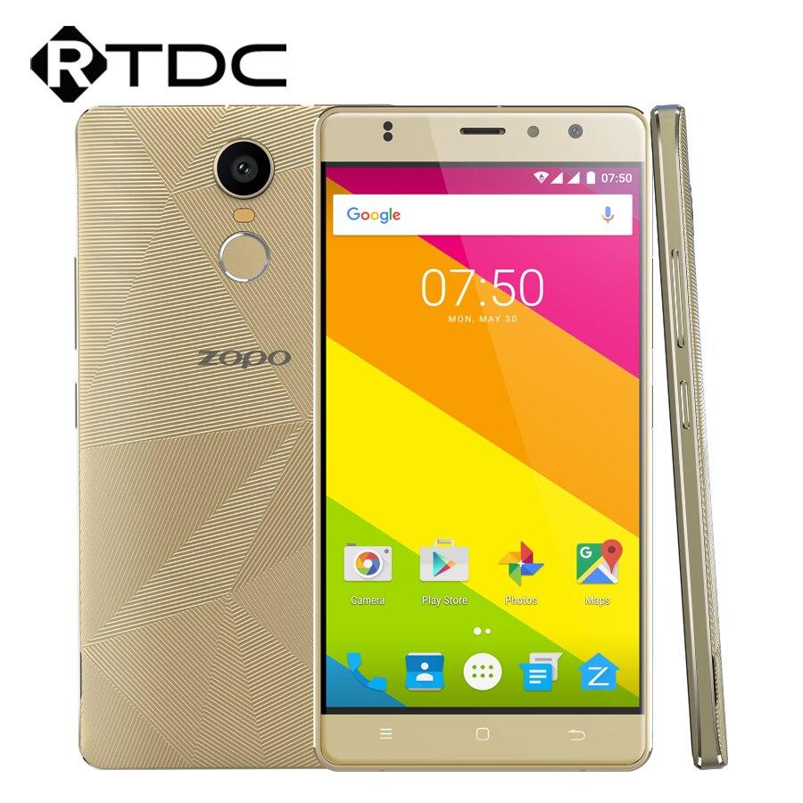 """Цена за Оригинал ZOPO Hero 2 4 Г LTE Мобильный Телефон Android 6.0 5.5 """"MT6737 Quad Core 1.3 ГГц 1 ГБ RAM 16 ГБ ROM OTG Dual SIM Отпечатков Пальцев"""