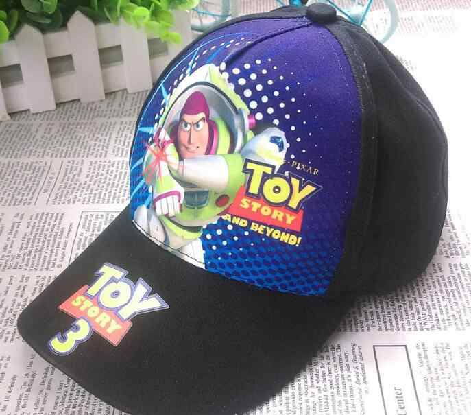 2287a4c7 1pcs popular cartoon kids lovely Toy story Fashion Sun Hat Casual Cosplay Baseball  Cap children party