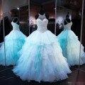 Azul quinceanera vestidos sweet 16 dresses vestido de cristal 15 vestidos de 15 anos vestidos de quinceanera robe de bal vestido quinceanera
