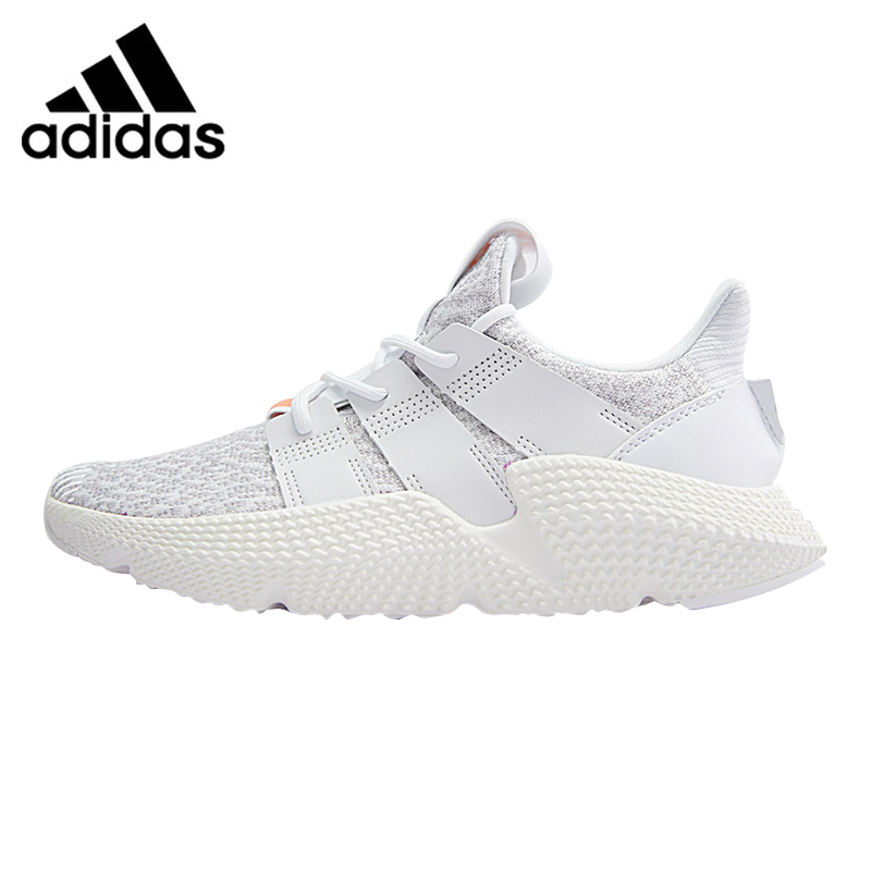 Adidas Prophere Undftd Men and Women Running Shoes, White, Shock Absorbing Non-Slip Breathable Lightweight CQ2542 men stylish breathable shock absorbing athletic shoes
