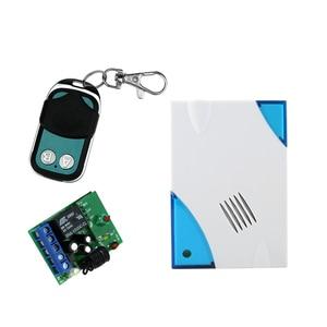 Image 4 - Kit de système de contrôle daccès entièrement étanche avec verrouillage électrique de la grève + télécommande + sonnette de porte + alimentation + sortie + 10 clés livraison gratuite
