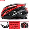 Kingbike capacete de bicicleta ultraleve, capacete de ciclismo para montanha, estrada, mtb, capacetes de luz traseira para homens e mulheres, esportes ao ar livre 24