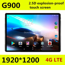 10 inch New 2.5D screen 4G LTE tablet pc smartphone Octa core 1920*1200 HD 8.0MP 4GB 64GB Bluetooth GPS Android 7.0 pc tablet