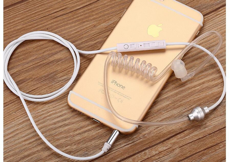 3.5mm ear hook Radiation air headphones stereo headset children pregnant women earphone earbuds
