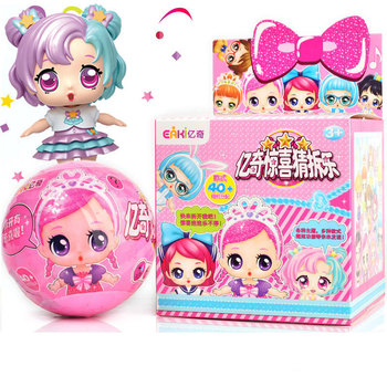 New Fashion DIY lol Surprise Dolls 3 Series Princess Doll Lol baby ball Kids Toys with Gift Box Toys for Girls New Year Present Car phone