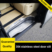 Alphard Door Sill Door Scuff Plate Door Sill Cover 304 Stainless Steel Total 8 Pcs Low