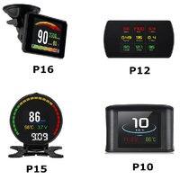 New TFT OBD Digital Speed Hud Display Speedometer OBD2 Turbo Boost Pressure 48 Kinds Of Data Stream Gauge Code Reader