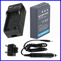 Battery and Charger for Olympus PS-BLS1,BLS-1 and Evolt E-410,E-420,E-450,E-600, E-620 & PEN E-P1,E-P2,E-P3,E-PL1, E-PL3, E-PM1