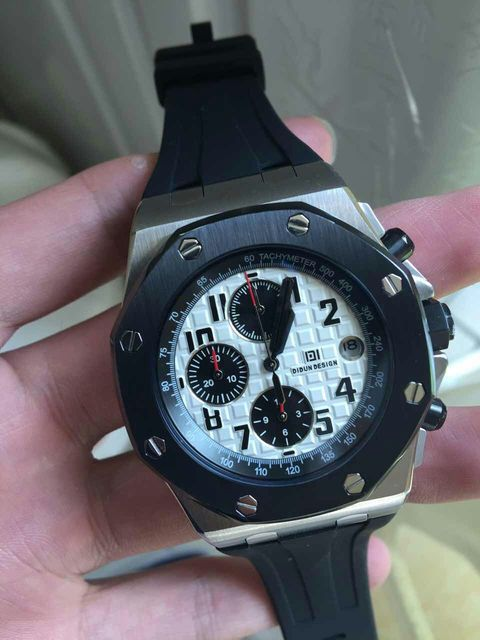 DIDUN montre hommes de luxe marque hommes en acier Quartz sport montres hommes militaire sport montre-bracelet 30m étanche horlo