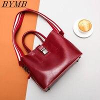 2017 The New Bag Luxury Brand Shoulder Bag 100 Genuine Leather Fashion Trend Shoulder Bag Lady