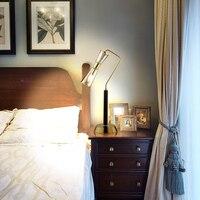 Постмодерн Творческий Настольные лампы Гостиная Nordic простой ночники спальня модель номер стеклянные украшения лампы lu811249