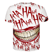 Funny t shirts Joker Casual Tee shirt Anmie Character 3D Print stranger things T-shirt Summer style top men clothes 2019