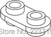 *1x2 w. knobs both sides*50pcs DIY enlighten block brick part No. Compatible With Other Assembles Particles