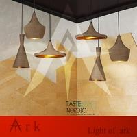 Loft Hemp Rope Shade Home Modern Dining Room Bar Shade Ceiling Hat Beat Light Pendant Lamp