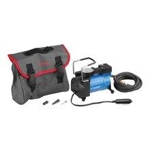 Компрессор автомобильный ЗУБР 61127 (давление 10 бар, производительность 50 л/мин, сумка)