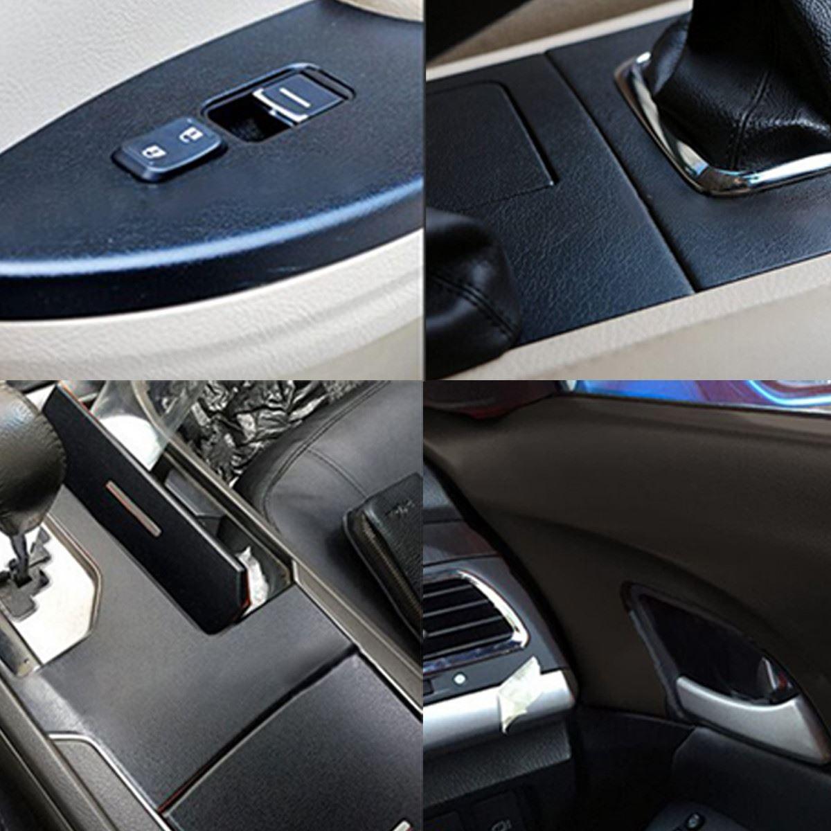 2019 30 100cm 3d Car Auto Interior Sticker Diy Leather Texture Dashboard Trim Vinyl Wrap Sheet