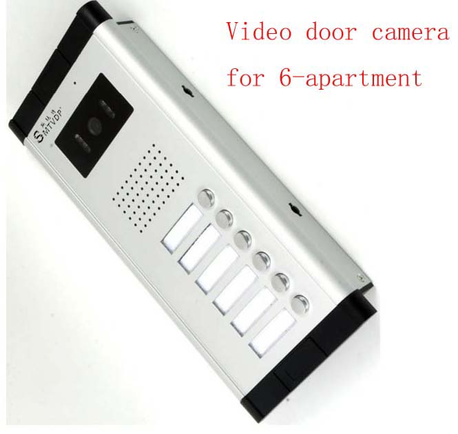 Здесь продается  SMTVDP Apartment Video Door Phone Camera Intercom IR Night Vision Doorbell for 6 Units Apartment Suitable 6-Stories Building  Безопасность и защита