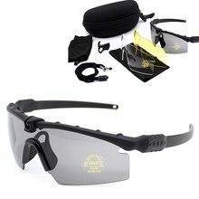 53891fc89d Nouveau Sport Lunettes UV400 Protection Randonnée Camping En Plein Air  lunettes de Soleil Tactique Chasse Tir