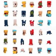 36 шт./лот Minecraft игры Brinquedo игрушки Мстители Super Hero Лига Справедливости строительные блоки игрушки Фигурки для подарка