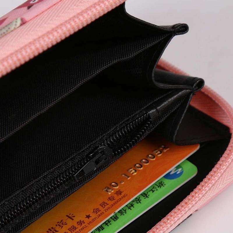 Plånböcker Lovely Printing Women Wallet Ladies Clutch Change Mynt - Plånböcker - Foto 4