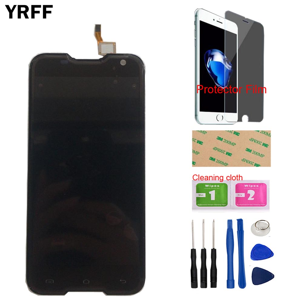 YRFF LCD Dispaly For Blackview BV5000 LCD Display + Touch Screen 1280X720 5.0inch Assembly + Tools + Protector FilmYRFF LCD Dispaly For Blackview BV5000 LCD Display + Touch Screen 1280X720 5.0inch Assembly + Tools + Protector Film