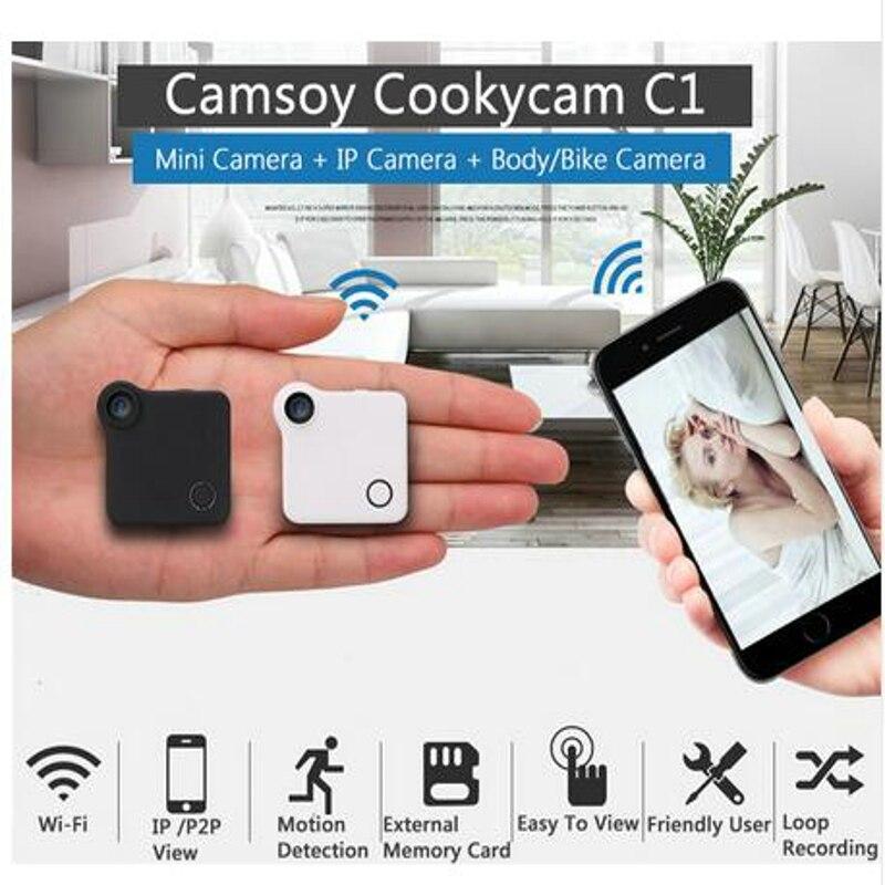C1 Mini caméra DVR Wifi P2P IP 720 P H.264 HD Mini caméra sans fil Action caméra vélo Mini DV caméra enregistreur vidéo