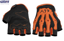 Goofit Competition Motorcycle Full Finger Gloves Racing Motocross Bicycle Riding Gloves half finger Casual Riding Gloves CE-04B цена